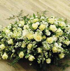Country White Rose Double Ended