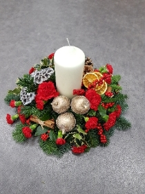 Modern Christmas Table Centre Piece
