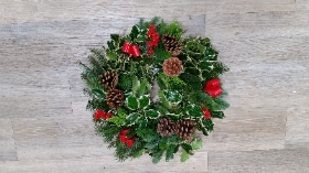 Traditional Decorated Wreath